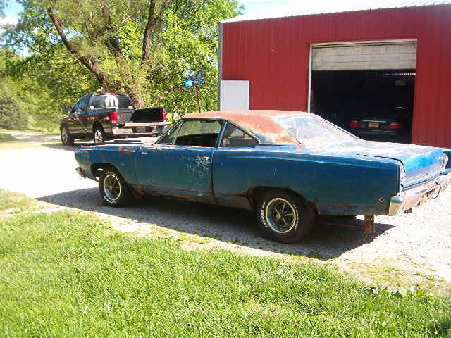 1968 Plymouth Road Runner 383 4 Speed Numbers Matching