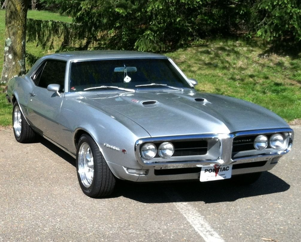 1968 Pontiac Firebird 400  sweet silver driving machine for sale