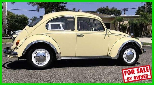 1968 Vw Beetle 4 Cylinder Rebuilt Engine And Trans Rare