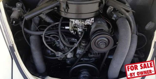 1968 Vw Beetle 4 Cylinder Rebuilt Engine And Trans Rare
