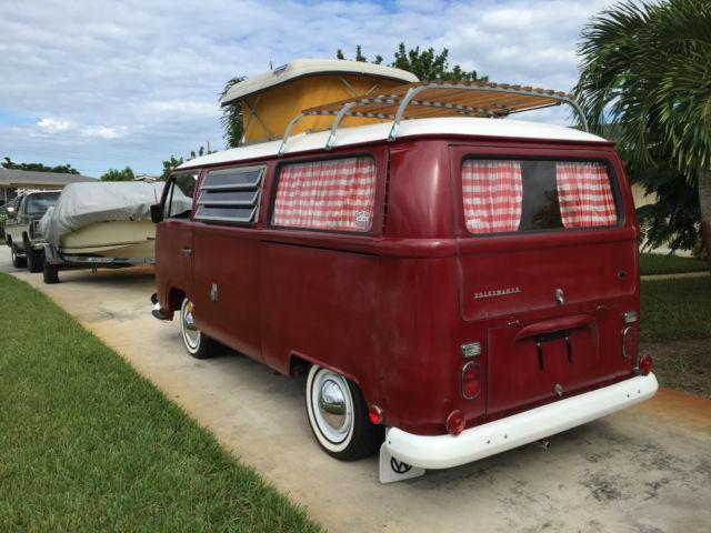 1968 Vw Camper Bus Bay Window For Sale In Jupiter Florida
