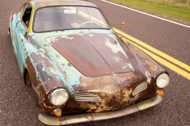 1968 vw karmann ghia custom rat rod from gas monkey garage