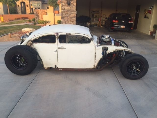 1968 vw rat rod volksrod tube chassis 383 twin turbo hot rod ratrod for sale in st george utah. Black Bedroom Furniture Sets. Home Design Ideas