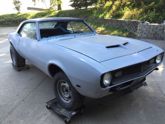 1968 yenko camaro clone project for sale in marshalltown iowa united states. Black Bedroom Furniture Sets. Home Design Ideas