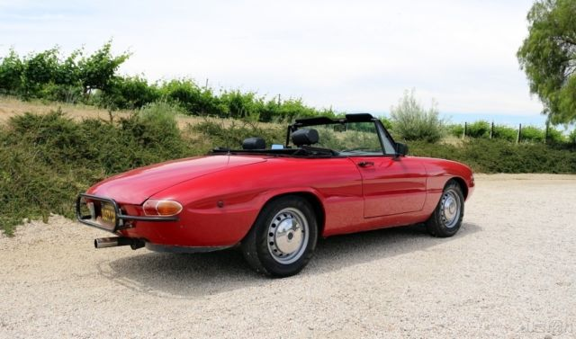 1969 alfa romeo boat tail spider convertible. Black Bedroom Furniture Sets. Home Design Ideas