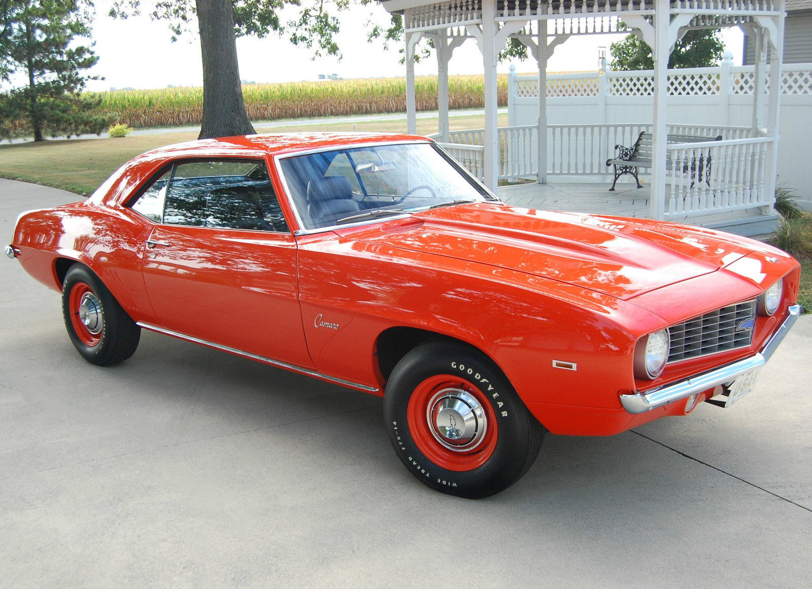 1969 camaro copo zl1 for sale in atwood illinois united states. Black Bedroom Furniture Sets. Home Design Ideas