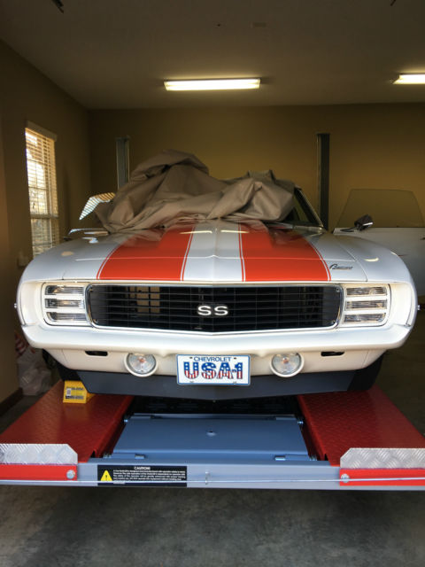 1969 Camaro Pace Car RS/SS L78 396/375hp for sale: photos, technical