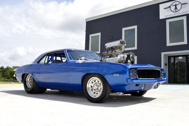 1969 Camaro Pro Street Over 1000hp 250k Build Isca Show Winner Pro Touring For Sale Photos