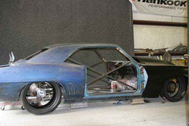 1969 Camaro Project Car, Full Chassis, Real 69 Body, for ...