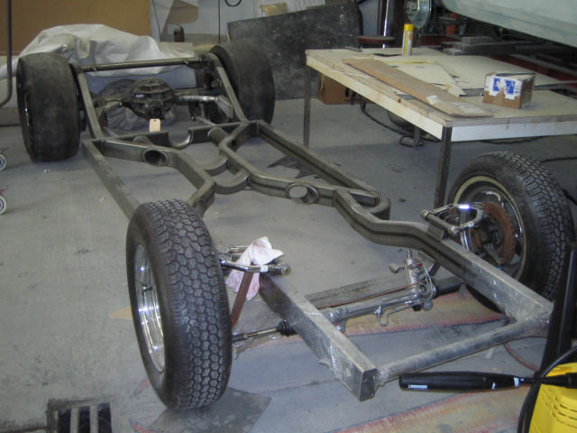 1969 Camaro Project Car, Full Chassis, Real 69 Body, for