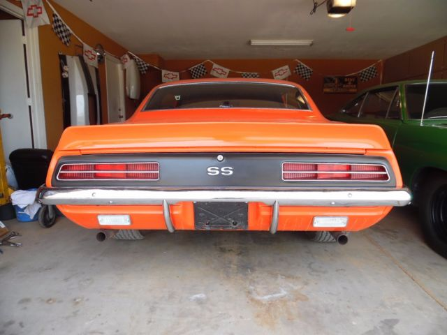 1969 camaro rs ss l78 396  375hp 4spd 4 10 12 bolt posi zl2 Chevy Owners Manuals 2016 Camaro SS Owner's Manual