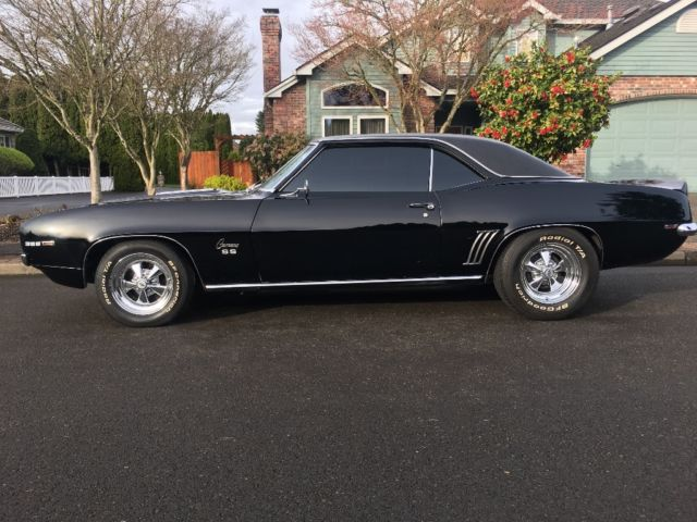 1969 CAMARO RS/SS BIG BLOCK 4 SPEED FACTORY AIR. RARE REAL DEAL 396