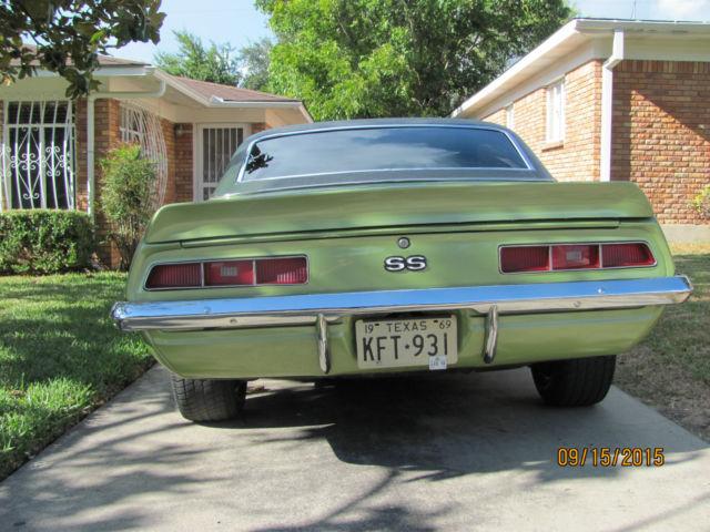1969 Camaro Tribute For Sale In San Antonio Texas United