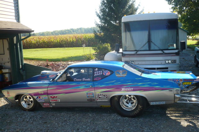 1969 chevelle drag race car for sale in economy indiana united states. Black Bedroom Furniture Sets. Home Design Ideas