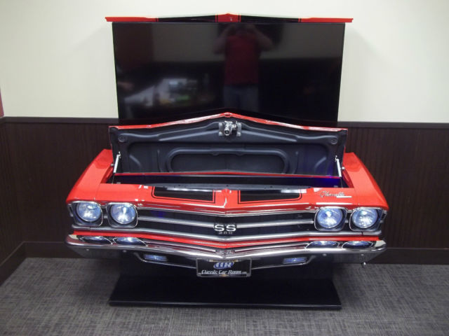 1969 Chevelle Ss396 Front End Tv Lift Display Man Cave