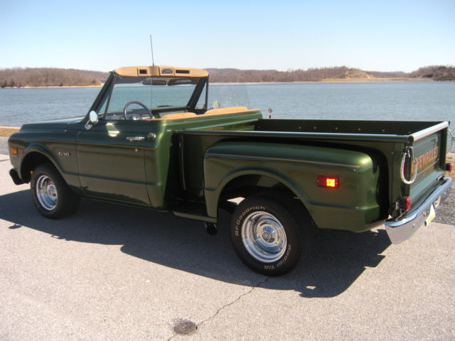 Muscle Cars With Good Gas Mileage >> 1969 chevrolet c10 custom convertible stepside short bed for sale in Reading, Pennsylvania ...