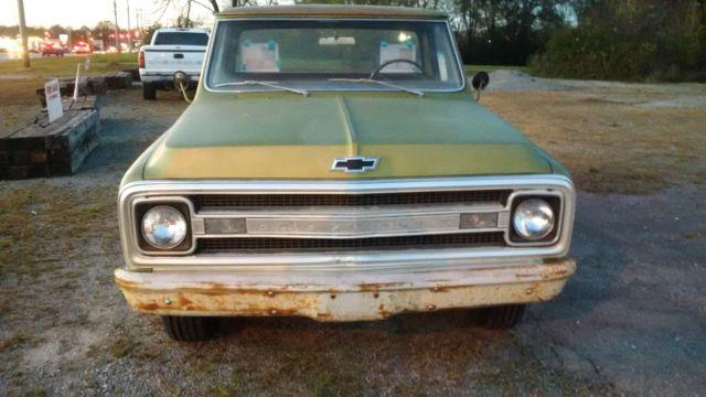 1969 Chevrolet C10 Pickup Truck Chevy 69 C 10 Barn Find