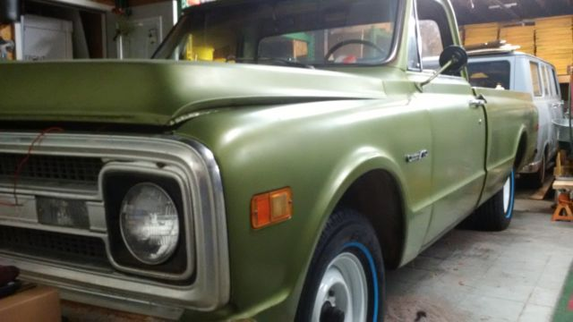 1969 chevrolet c10 pickup truck chevy 69 c 10 barn find original for sale in tullahoma. Black Bedroom Furniture Sets. Home Design Ideas