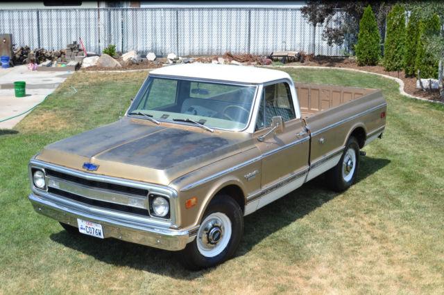 1969 chevrolet c20 cst custom c er 350 th400 1969 Chevy C20 Paint Colors
