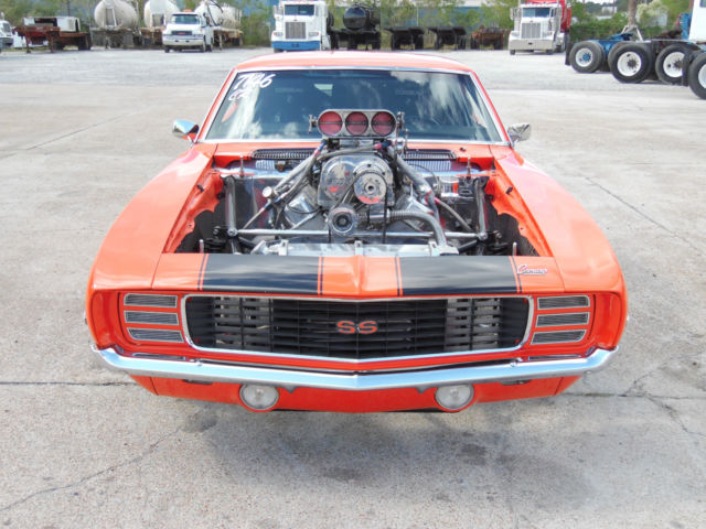 1969 Chevrolet Camaro Blown Pro Street Car For Sale In