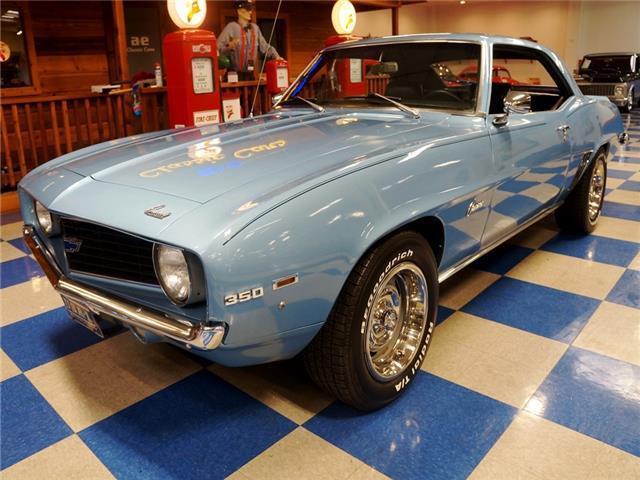 1969 Chevrolet Camaro Glacier Blue