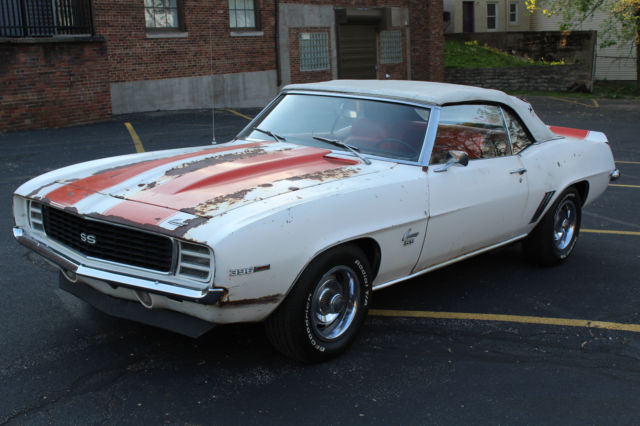 1969 chevrolet camaro pace car rs ss 396 convertible z11 for sale in cincinnati ohio united states. Black Bedroom Furniture Sets. Home Design Ideas