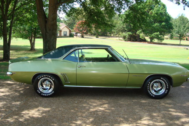 1969 Chevrolet Camaro Rally Sport Rs One Owner For