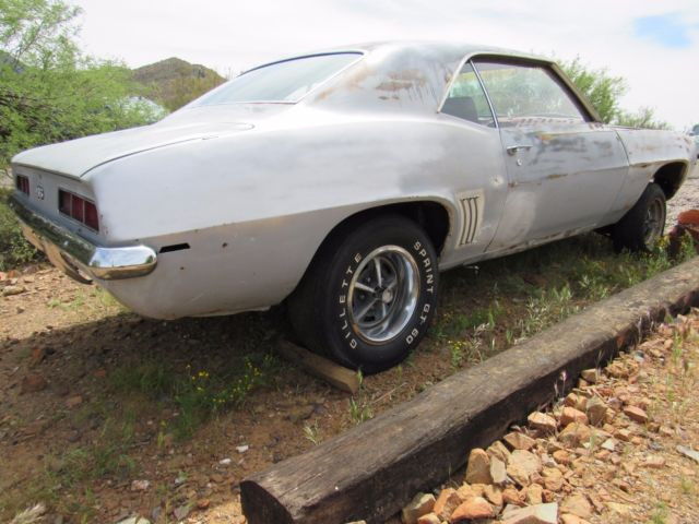 1969 Chevrolet Camaro Ss 396 Project Car
