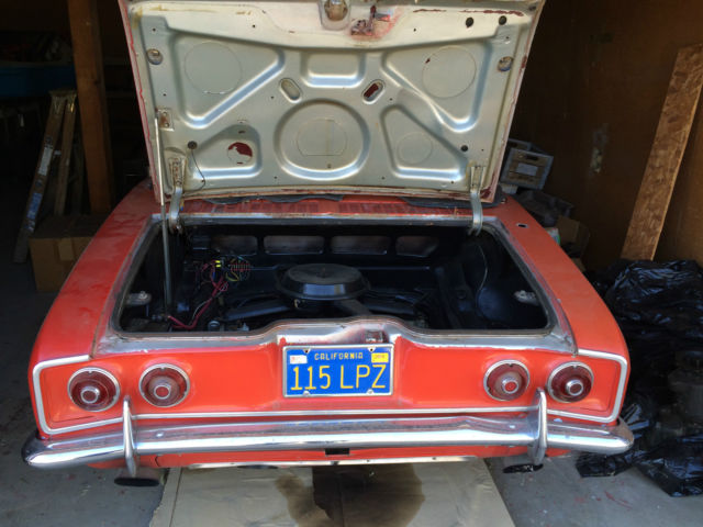 1969 Chevrolet Corvair Convertible Last Year Made Quot Only
