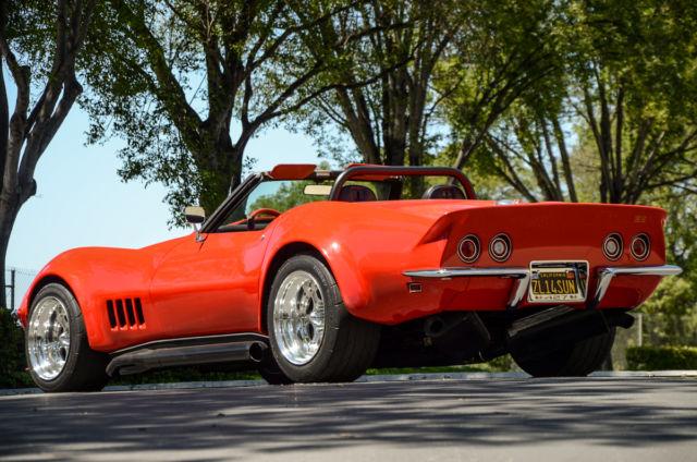 1969 Chevrolet Corvette Convertible Zl1 Clone