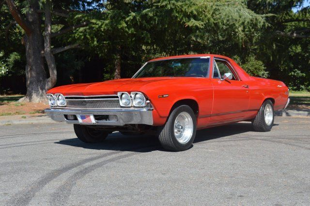 1969 chevrolet el camino red 0 miles. Black Bedroom Furniture Sets. Home Design Ideas