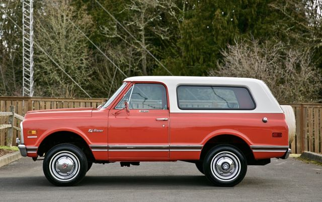 1969 Chevrolet K/5 Blazer CST 2DR Sport Utility GMC Jimmy ...