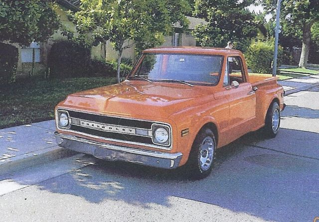 1969 chevy c10 step side for sale in clovis california united states. Black Bedroom Furniture Sets. Home Design Ideas