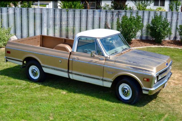 1969 Chevy C20 Custom Camper/20 Custom Sport Truck CST ...