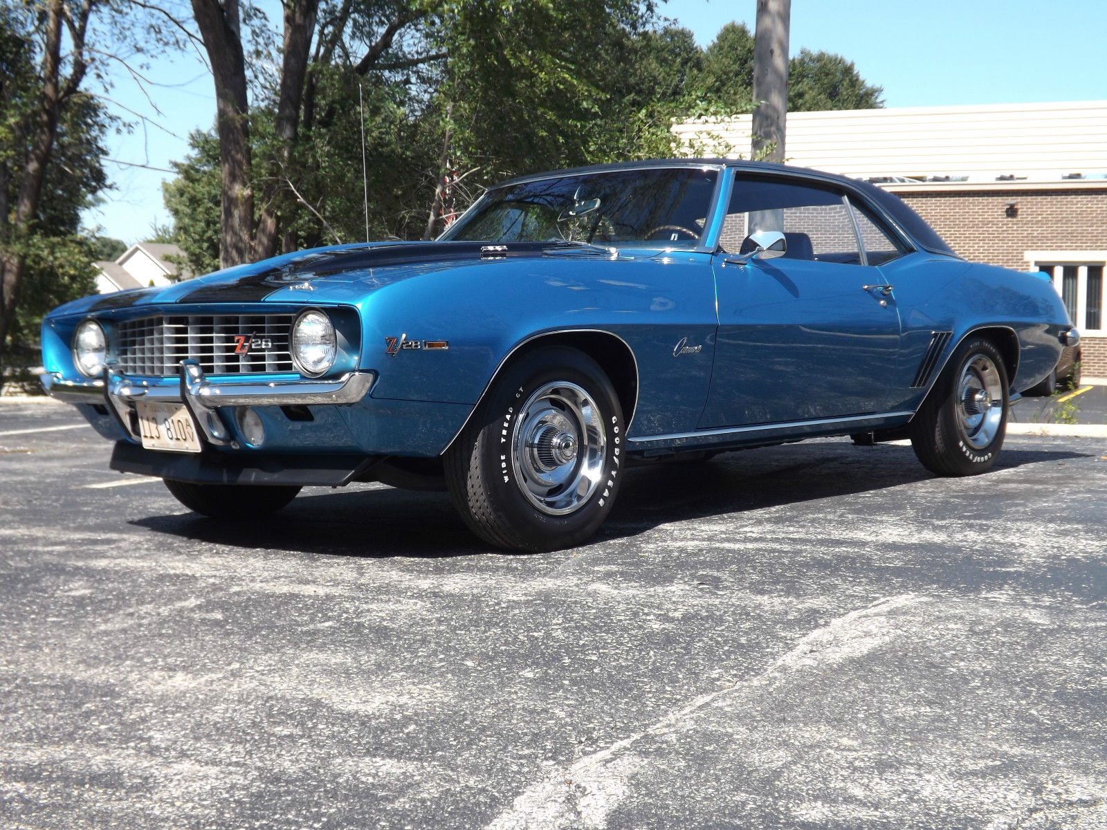 chevy camaro  numbers matching mint condition lemans blue  sale  schaumburg