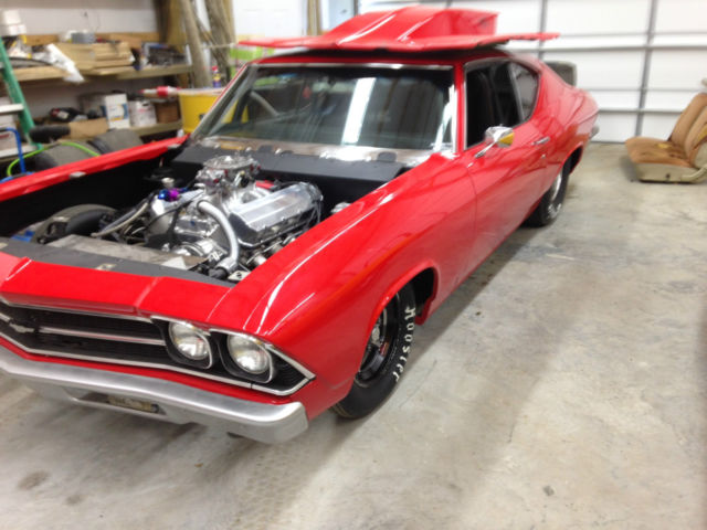 1969 chevy chevelle pro street with cert street outlaws. Black Bedroom Furniture Sets. Home Design Ideas