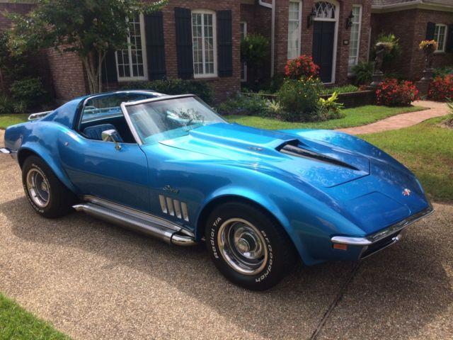 Corvette Stingray Hp Big Block Lemans Blue