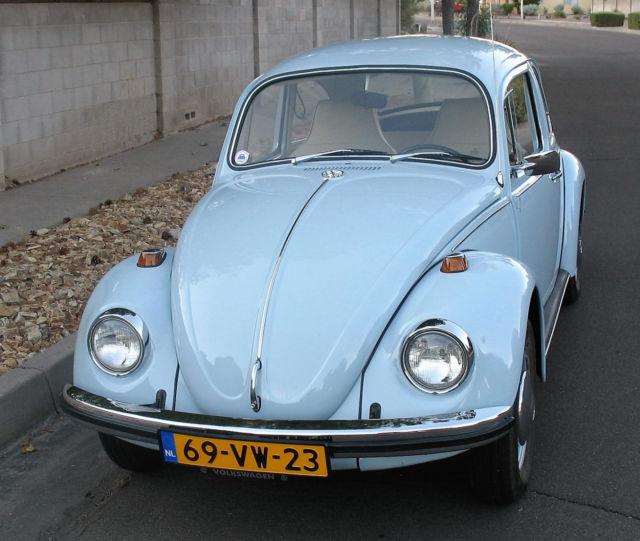 Albuquerque Volkswagen: 1969 Diamond Blue Volkswagen Beetle