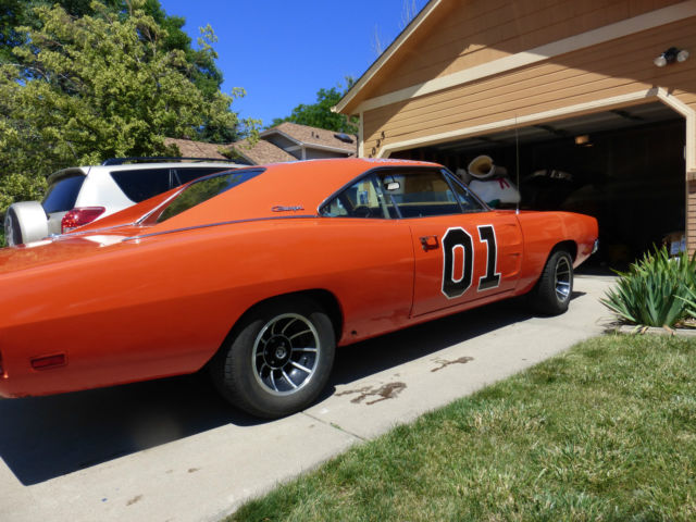 1969 Dodge Charger General Lee 440 Race Car Dukes Of