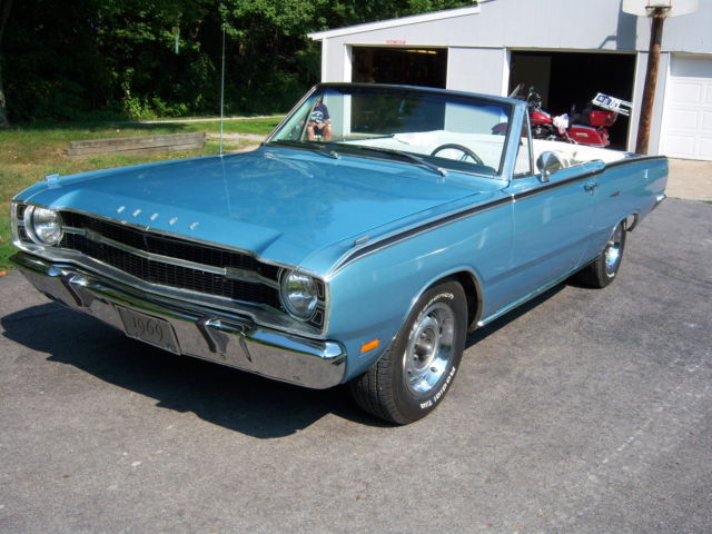 1969 Dodge Dart Gt Convertible For Sale In Butler