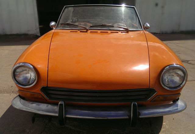 Fiat 124 Spider For Sale >> 1969 Fiat 124 Spider Convertible 2-Door 1.4L for sale in ...