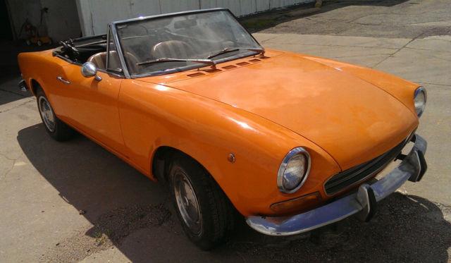 1969 Fiat 124 Spider Convertible 2 Door 1 4l For Sale In
