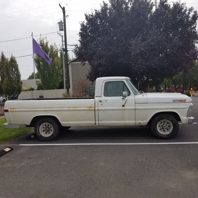 1969 Ford F-100 Pickup Daily Driver