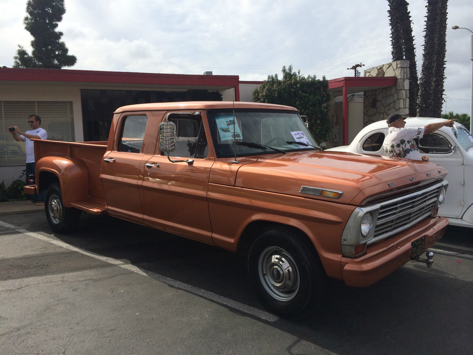 1969 Ford F 350 4 Door Custom Step Side With 7 5l Motor For Sale In Spring Valley California United States For Sale Photos Technical Specifications Description