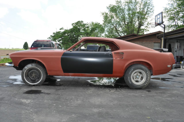 1969 Ford Mustang Fastback Mach 1 Q code 428 Cobra Jet 4 ...