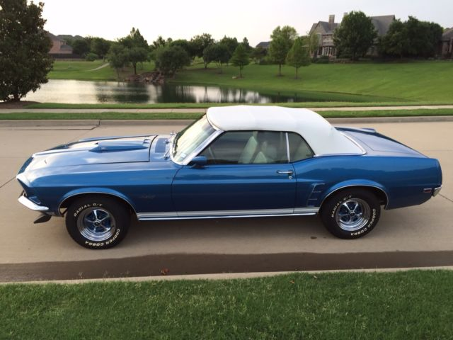 1969 ford mustang gt convertible for sale in mckinney texas united states. Black Bedroom Furniture Sets. Home Design Ideas
