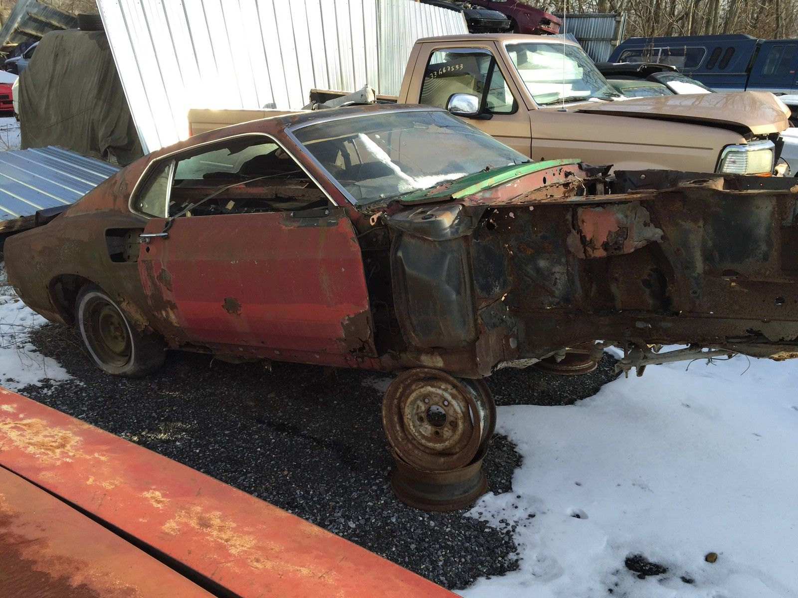1969 Ford Mustang Mach 1 R Code 428cj Fastback For Sale In Ono