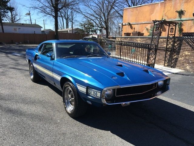 1969 Ford Mustang Shelby Gt350 One Ownerall Original Marti