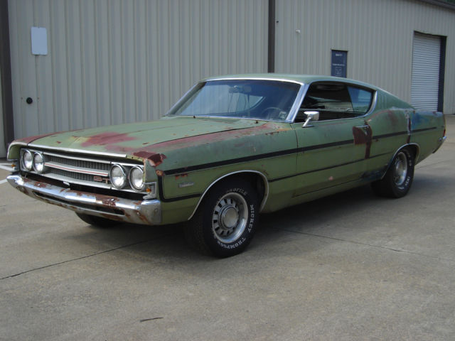 1969 Ford Torino GT S-code 390-4V C6 Automatic Buckets