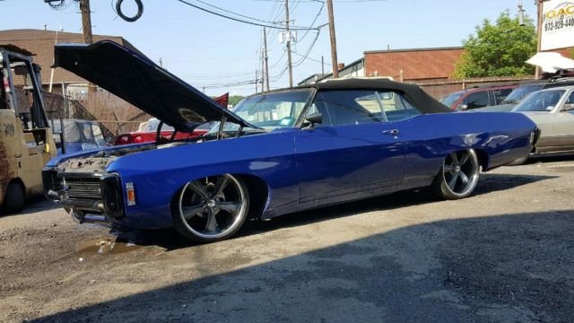 1969 Impala Convertible Project 22 Quot Wheels Disc Brake New